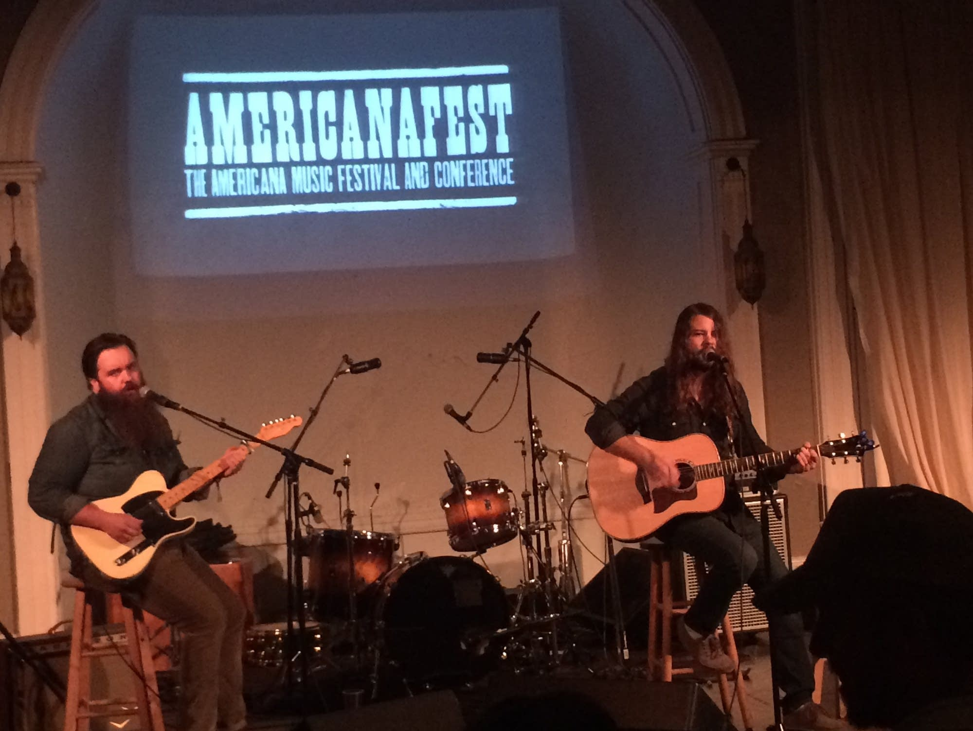 Brent Cobb performs at the Anchor