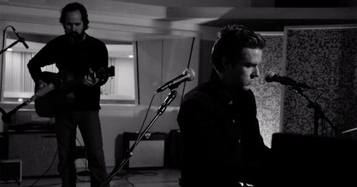 The Killers performing remotely for CBS This Morning Saturday Sessions