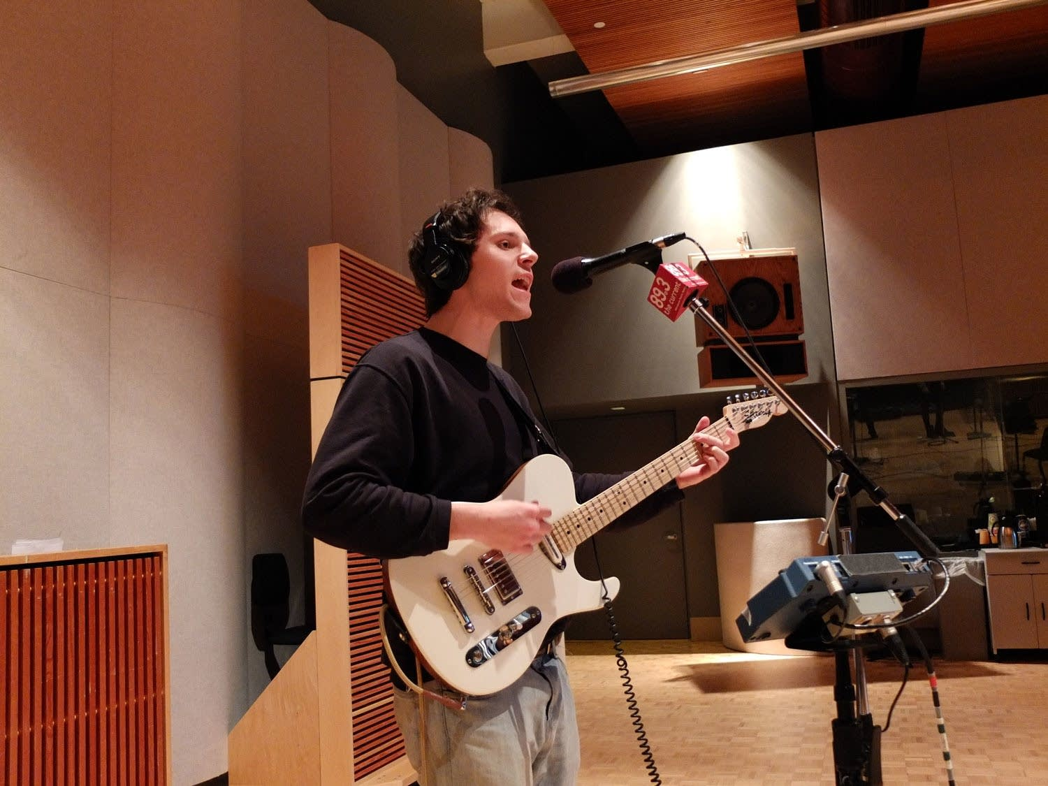 Dominic Corso of The Orwells performs in The Current studio
