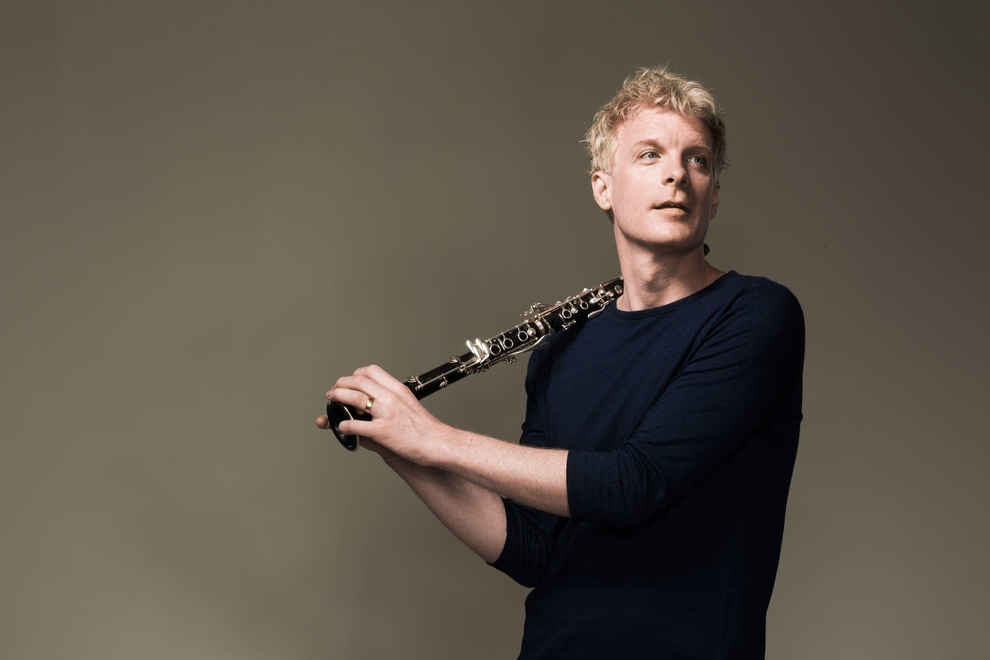 Clarinetist Martin Frost