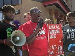Charles Thornton urges a higher minimum wage.