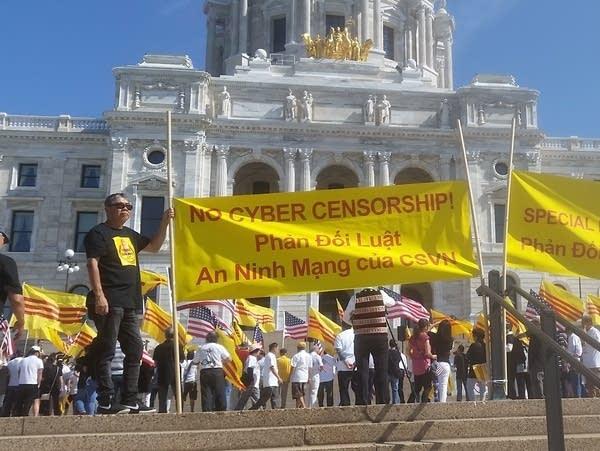 Minnesota Capitol rally