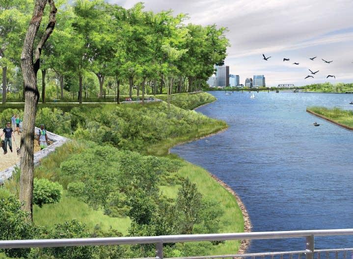 TLS/KVA riverfront proposal
