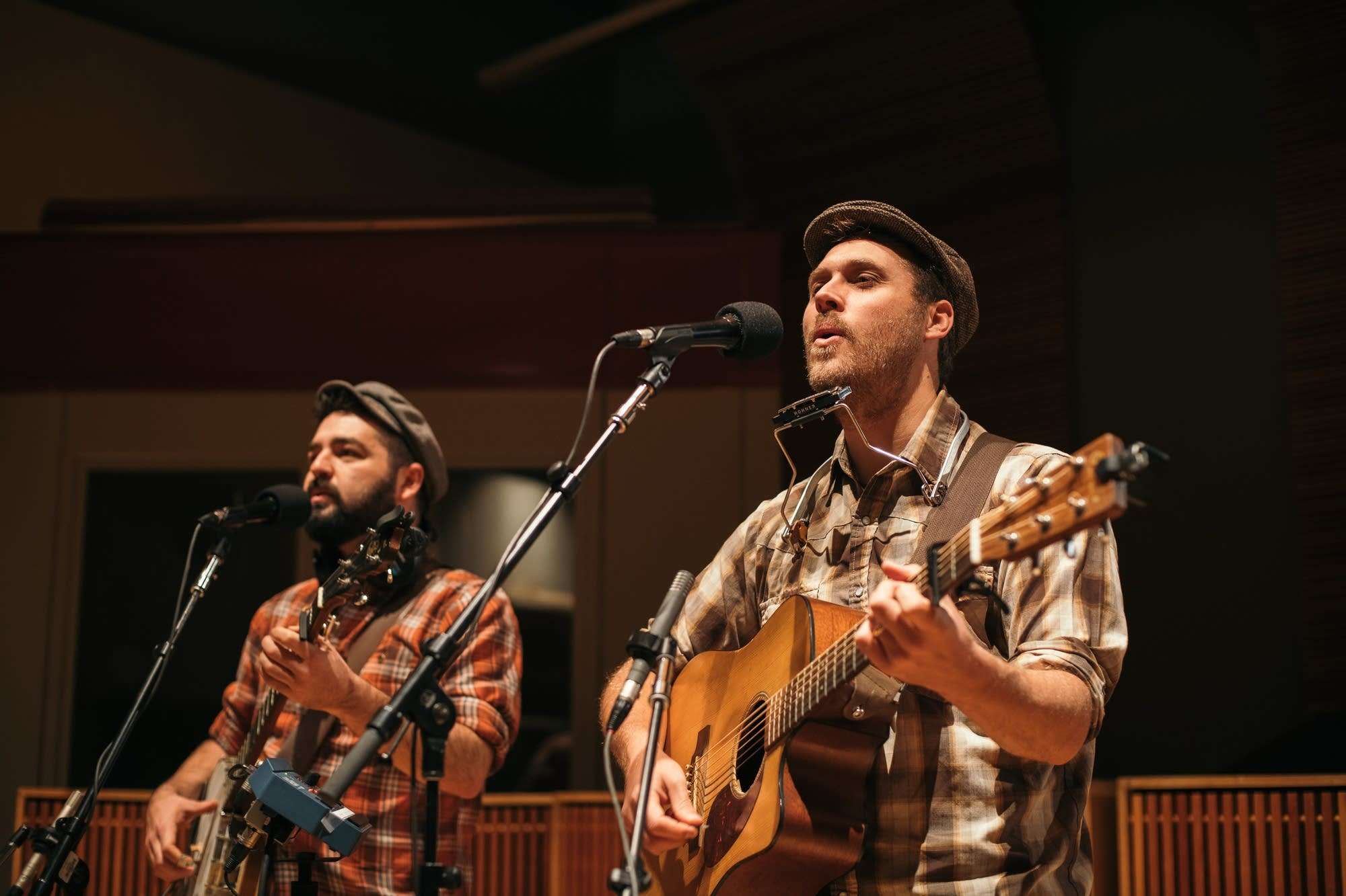 The Okee Dokee Brothers perform at Radio Heartland