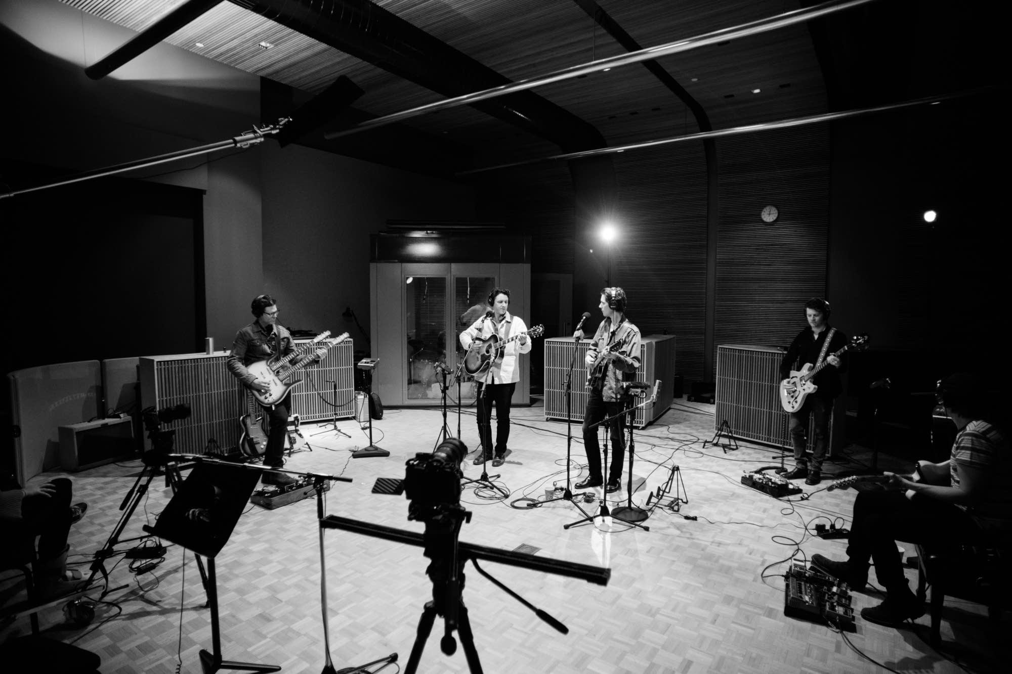 The Cactus Blossoms perform in The Current studio