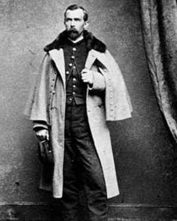 Captain Josias King, c.1864.