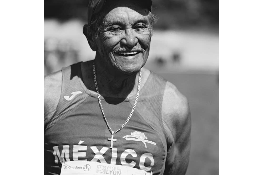 Decathlete Maximiliano Wong Moran, 82, of Mexico.