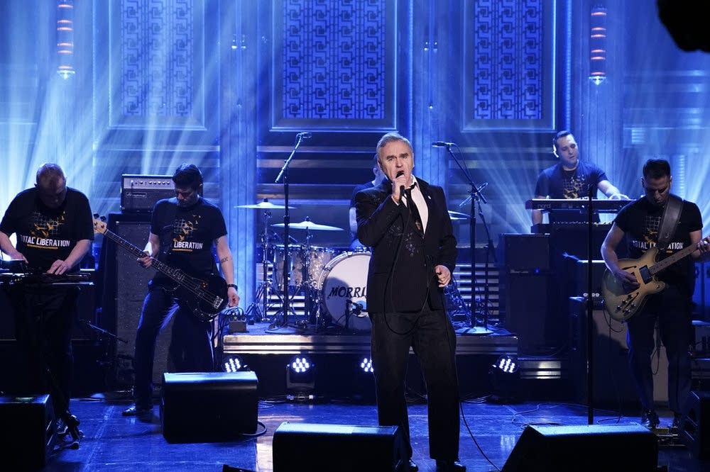 Morrissey performs on 'The Tonight Show Starring Jimmy Fallon'