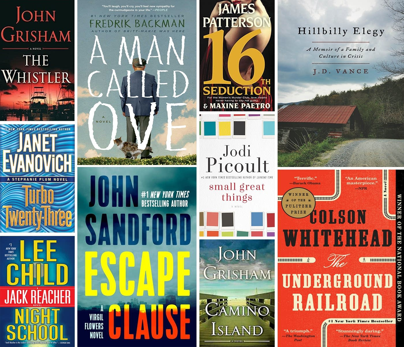 Winona Public Library favorites for 2017