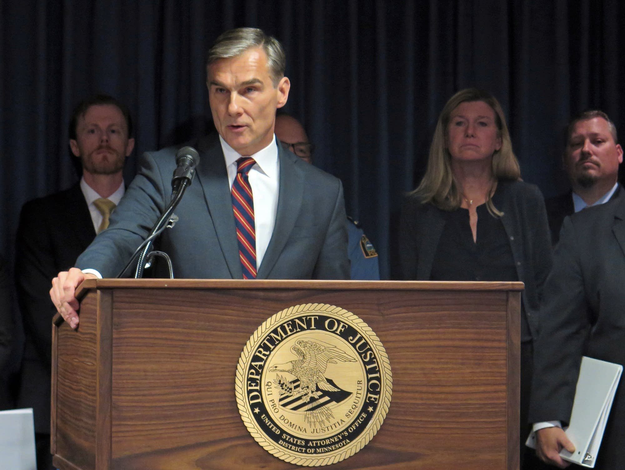 Interim U.S. Attorney Gregory Brooker
