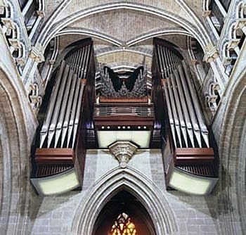 2003 C.B. Fisk organ at the Protestant Cathedral in Lausanne, Switzerland