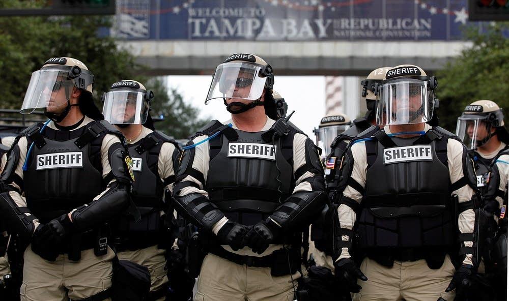 Police in Tampa
