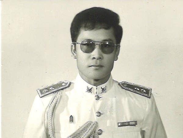 A man wearing a uniform.