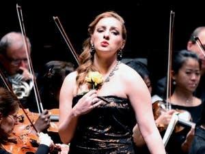Mezzo-soprano Aleks Romano performs in 'Carmen in Concert'