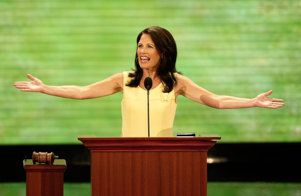 Michele Bachmann speaks at the RNC