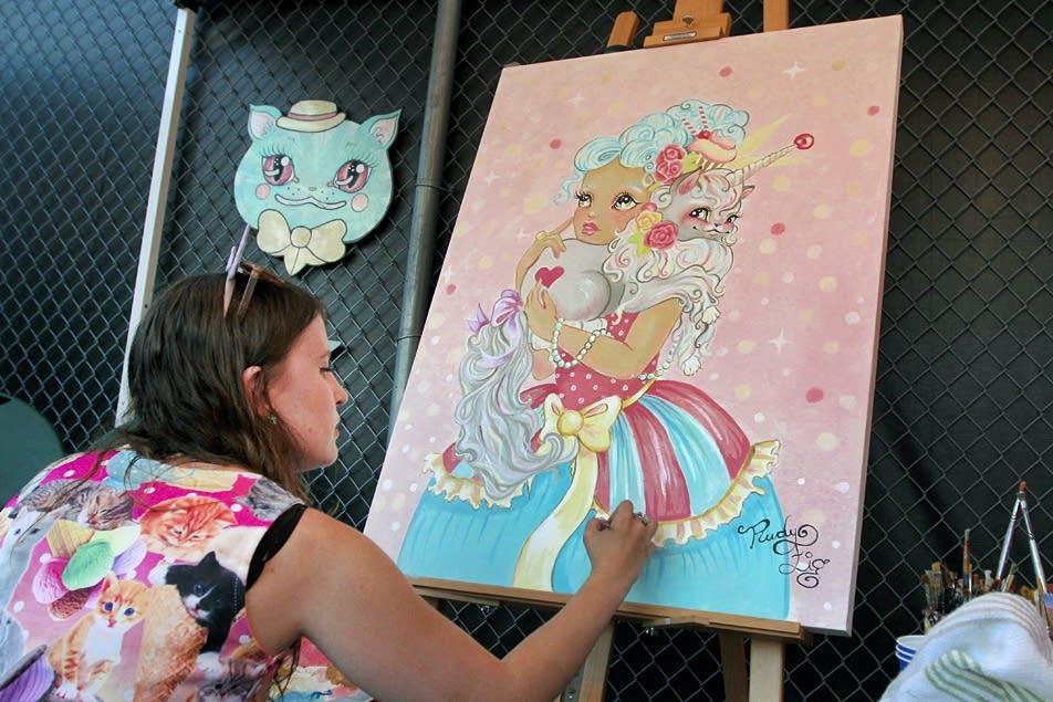 Artist Rudy Fig