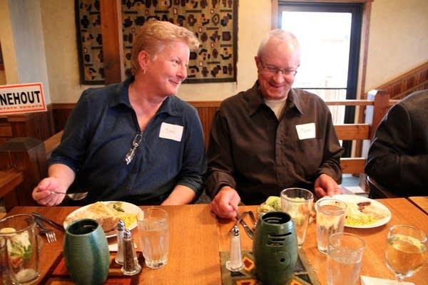 Nan and Mark Lambert