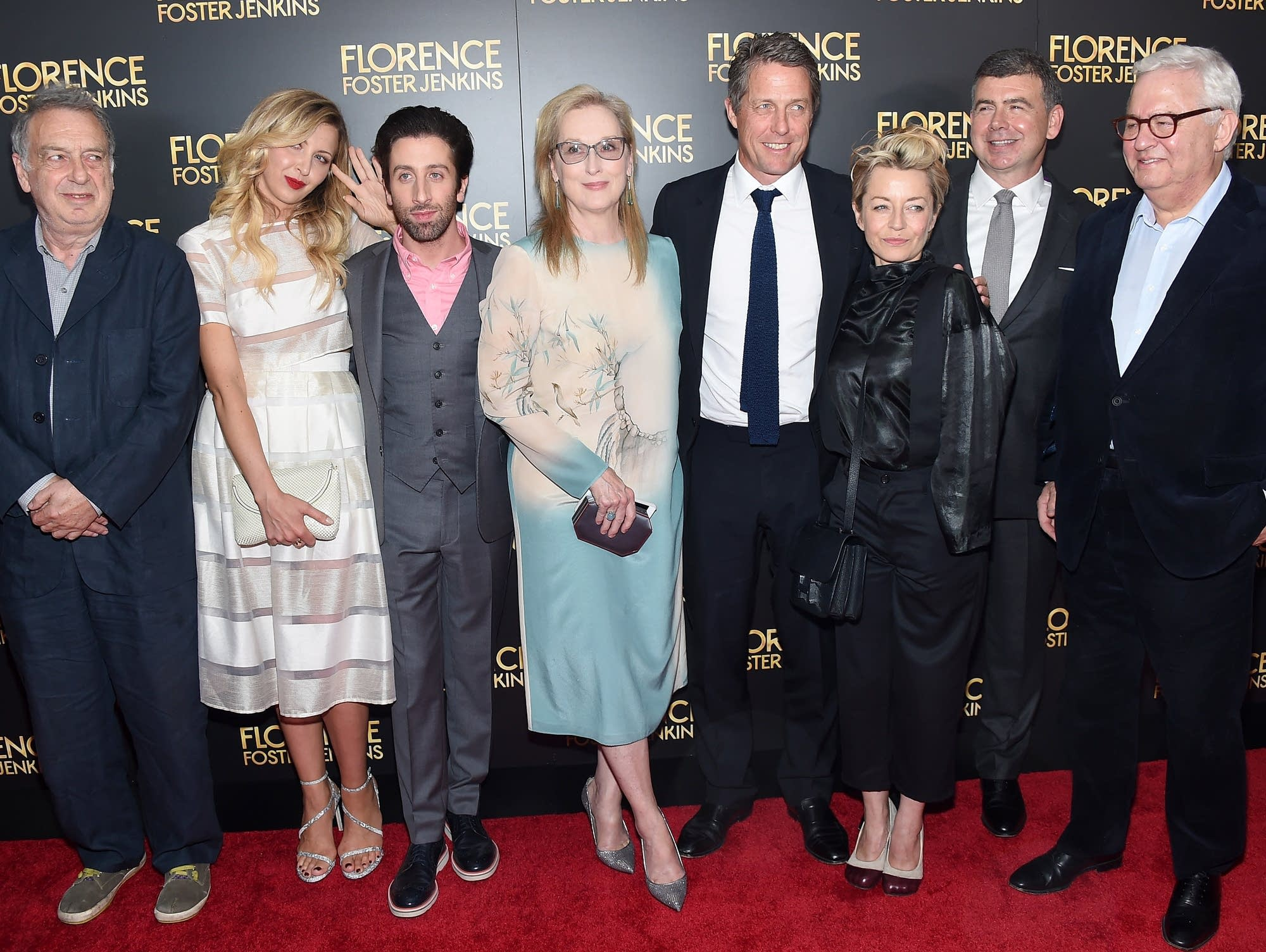 Florence Foster Jenkins New York Premiere