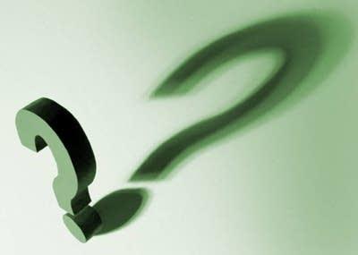 351f5b 20130301 question mark shadow