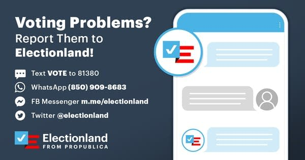 ProPublica Electionland