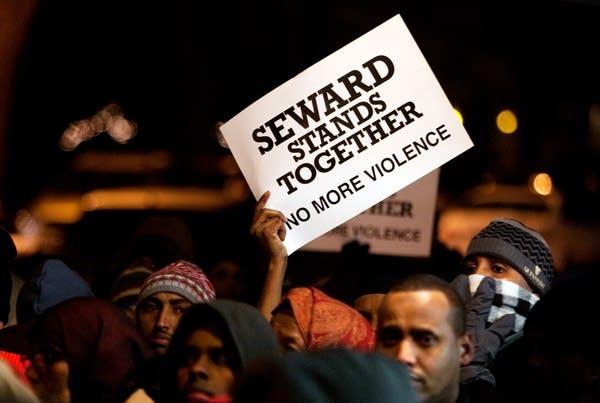 Seward community vigil