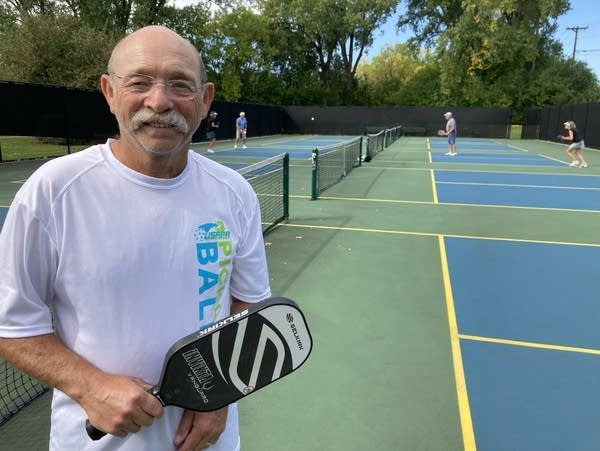 Pickleball outing at Mooty Pickleball Courts in Edina.