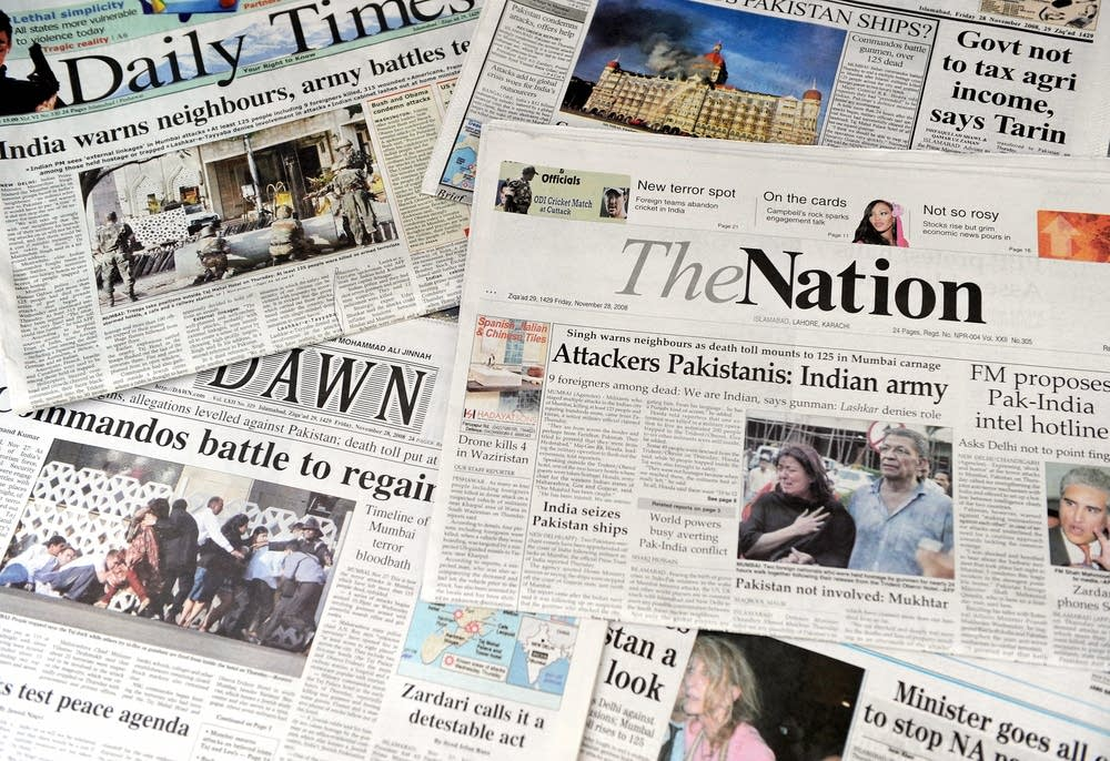 Pakistani newspapers