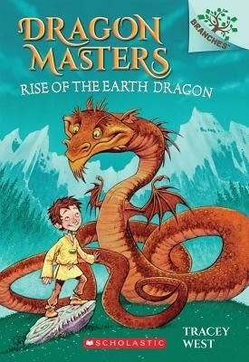 """Cover of """"Dragon Masters: Rise of the Earth Dragon"""""""