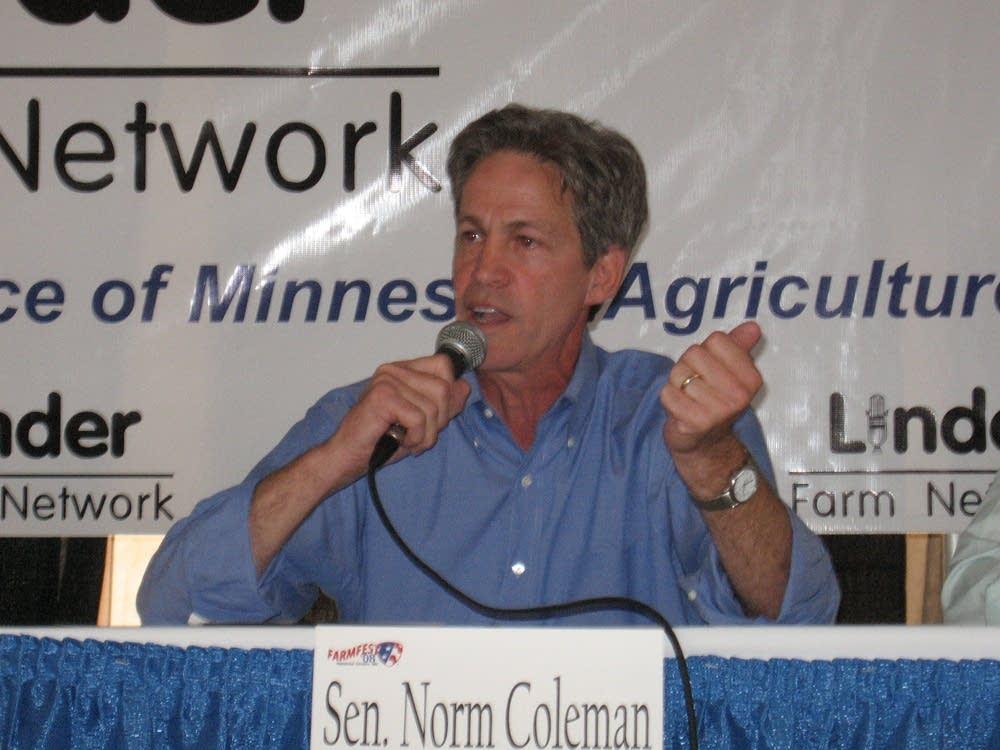 Coleman at debate
