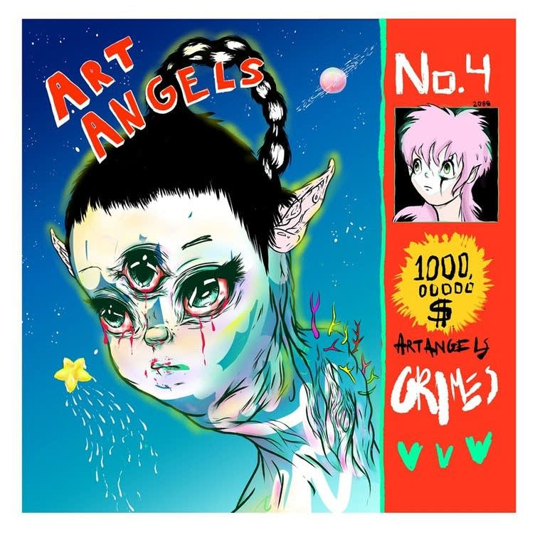 Grimes, 'Art Angels'