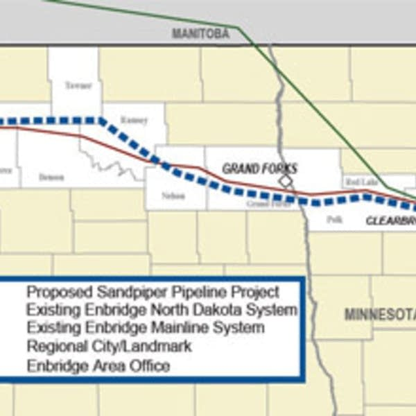 Enbridge puts on hold proposed Sandpiper oil pipeline across