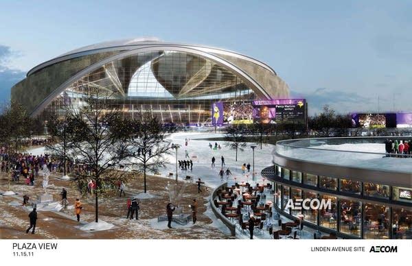 Linden Avenue stadium concept
