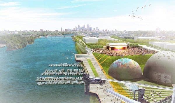 Proposed development of Upper Harbor