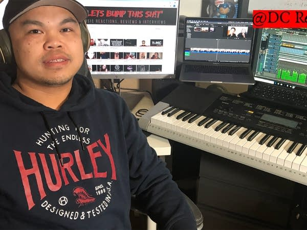 "David ""DC"" Chao organized an online contest for Hmong rap artists"