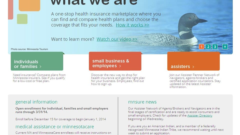 With a few glitches, MNsure goes live   MPR News