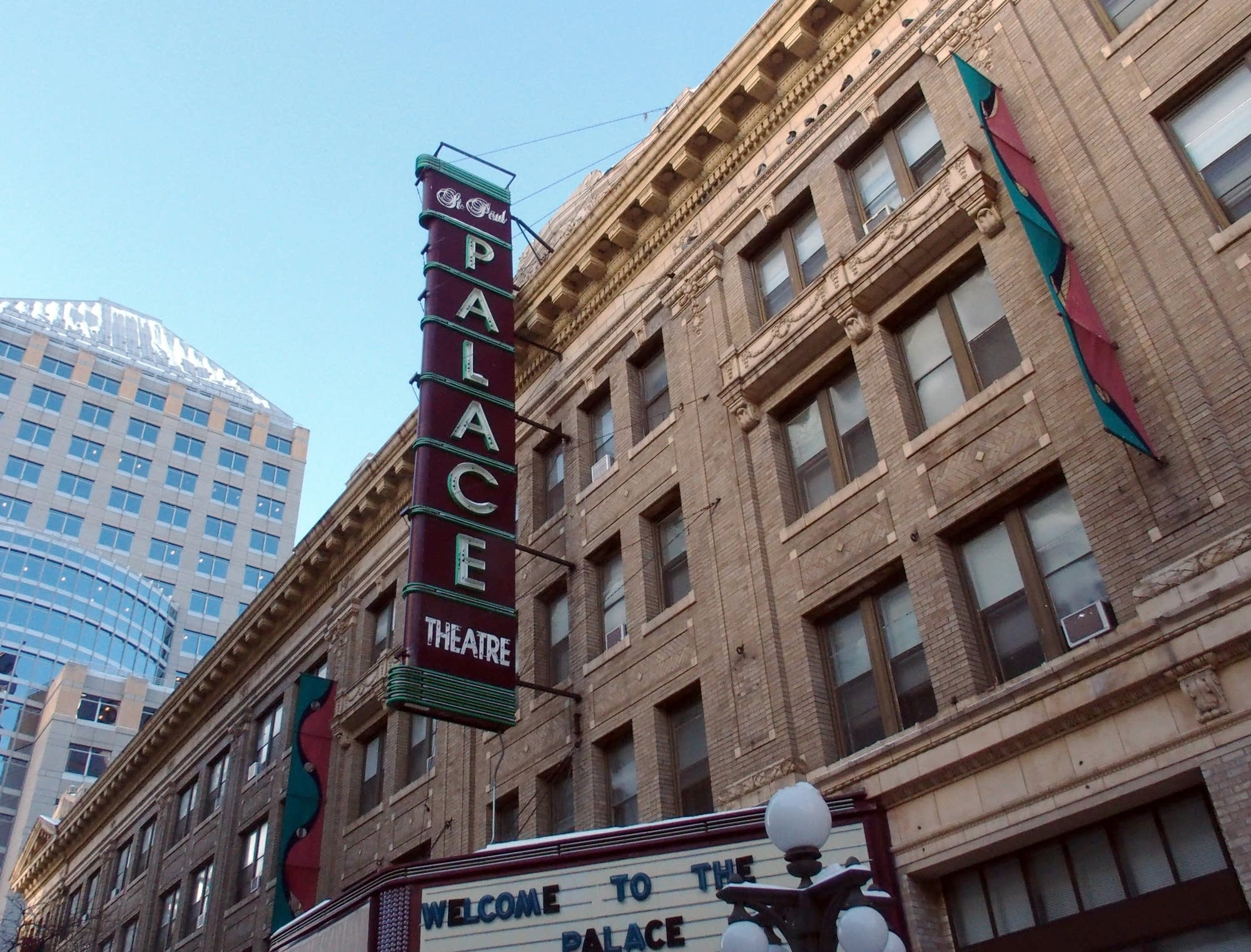 The Palace Theater in downtown St. Paul