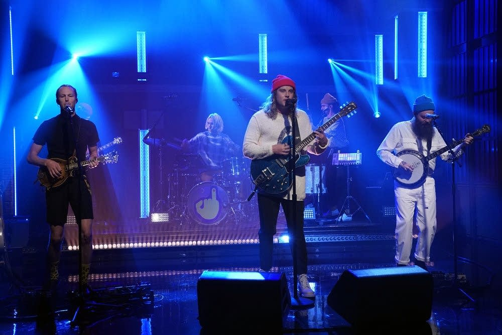 Judah and the Lion perform on 'Late Night with Seth Meyers'