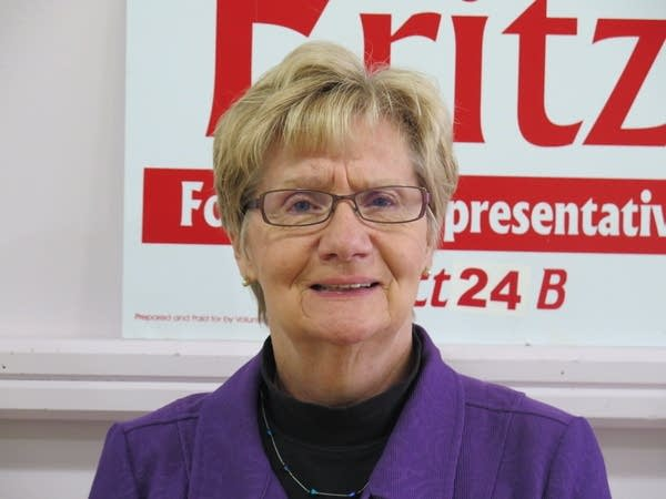 DFL House candidate Patti Fritz