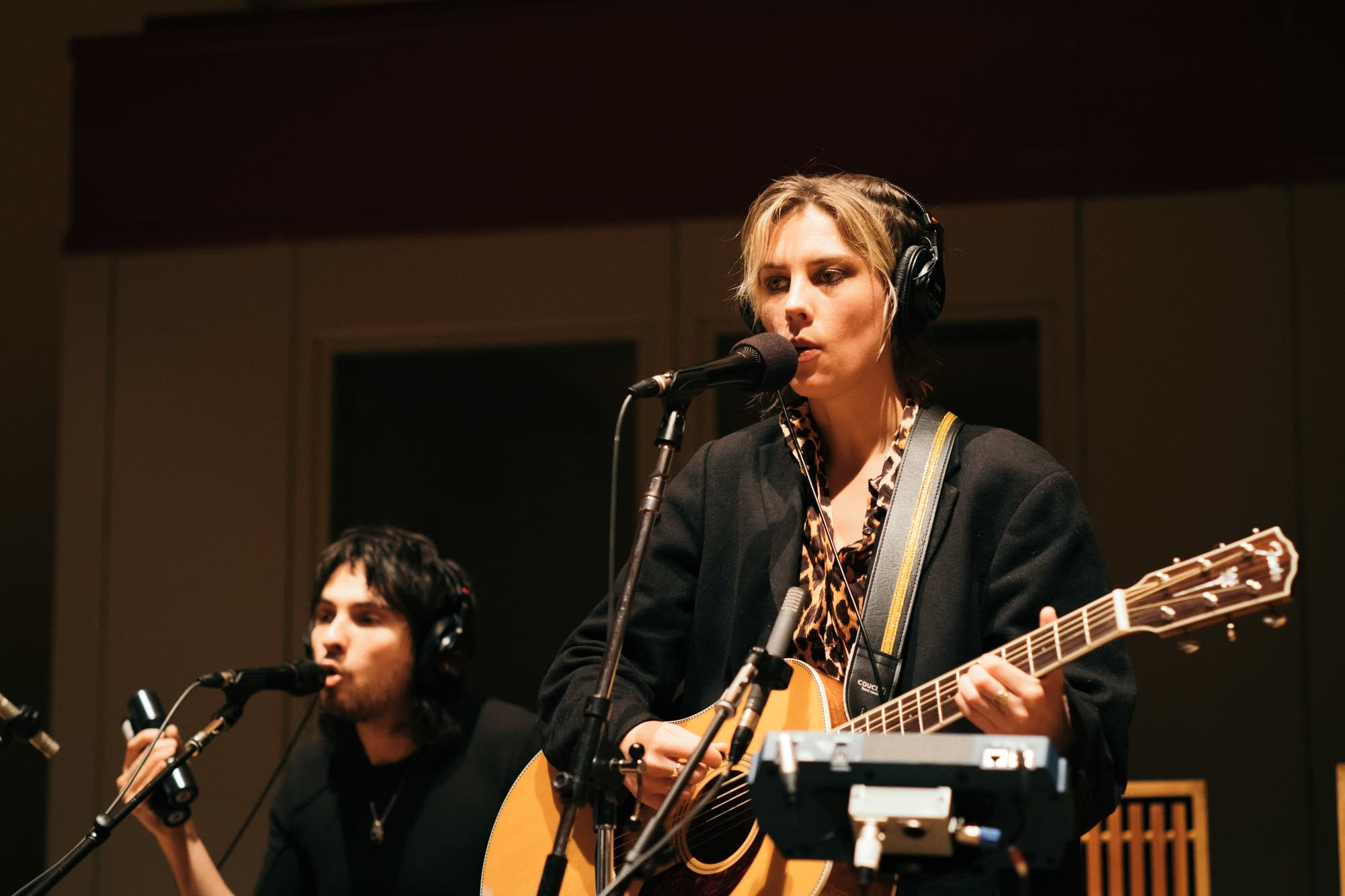 Wolf Alice perform in The Current studio