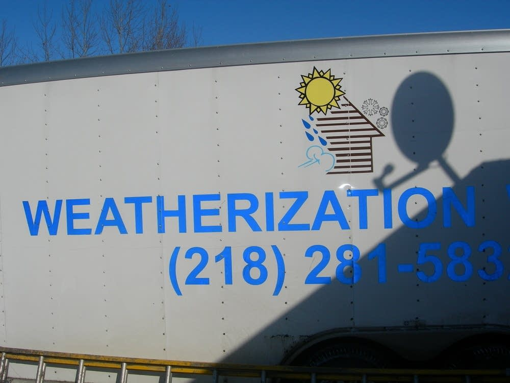 Weatherization crew