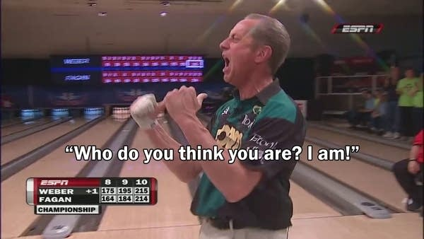 Bowler Pete Weber went viral with his post-win rant in 2012