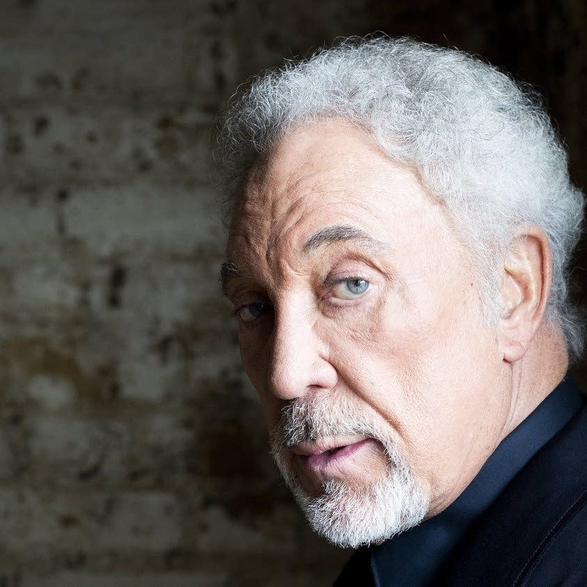 Tom Jones has a new album, Long Lost Suitcase