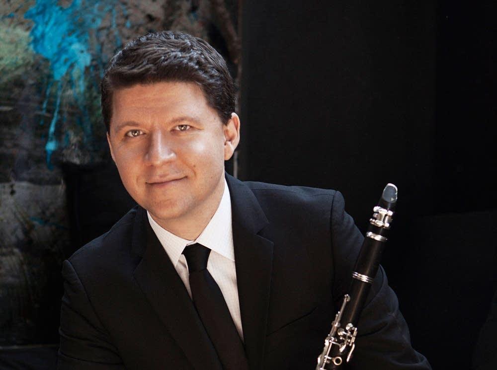 Clarinetist Alexander Fiterstein
