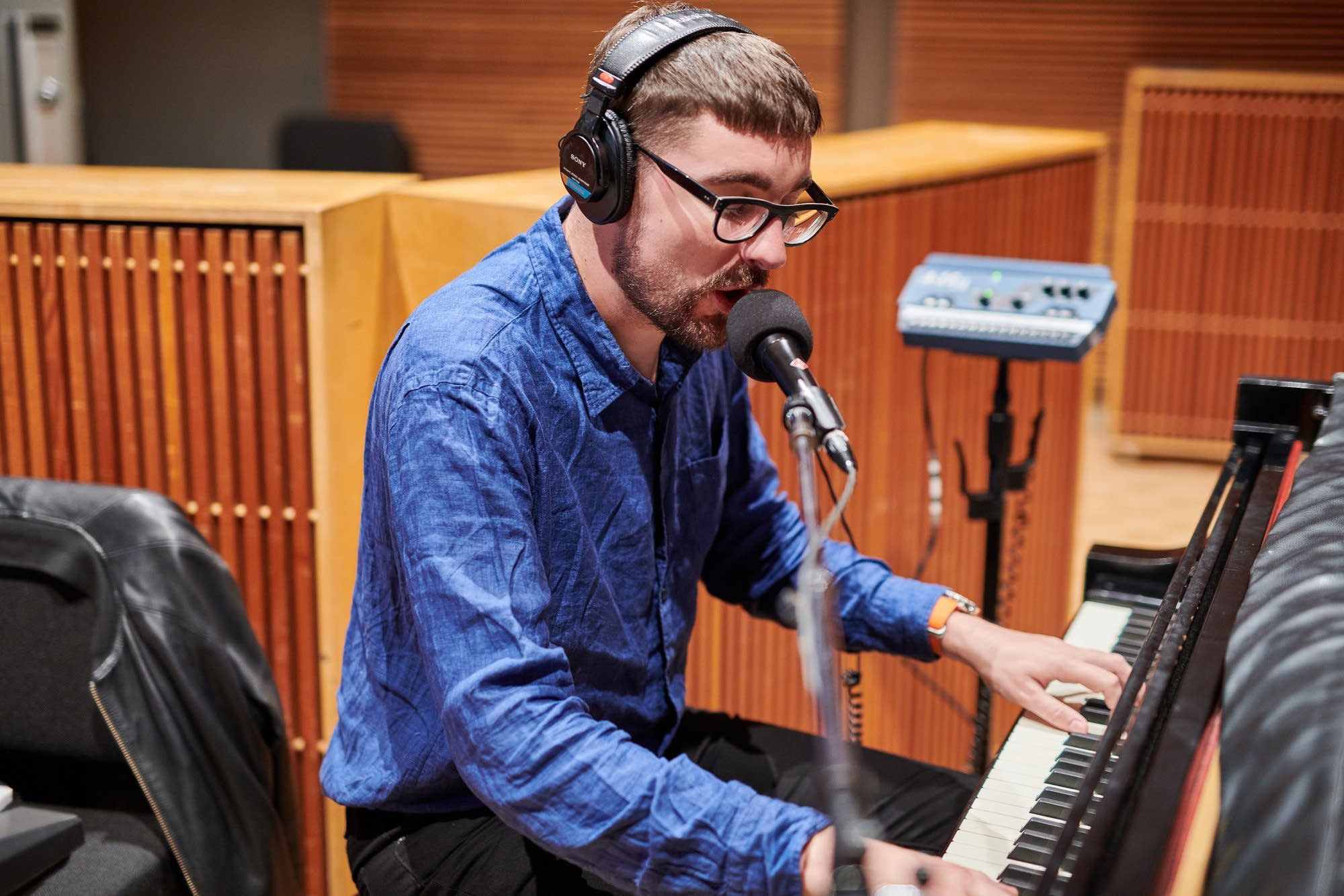 alt-J perform in The Current studio