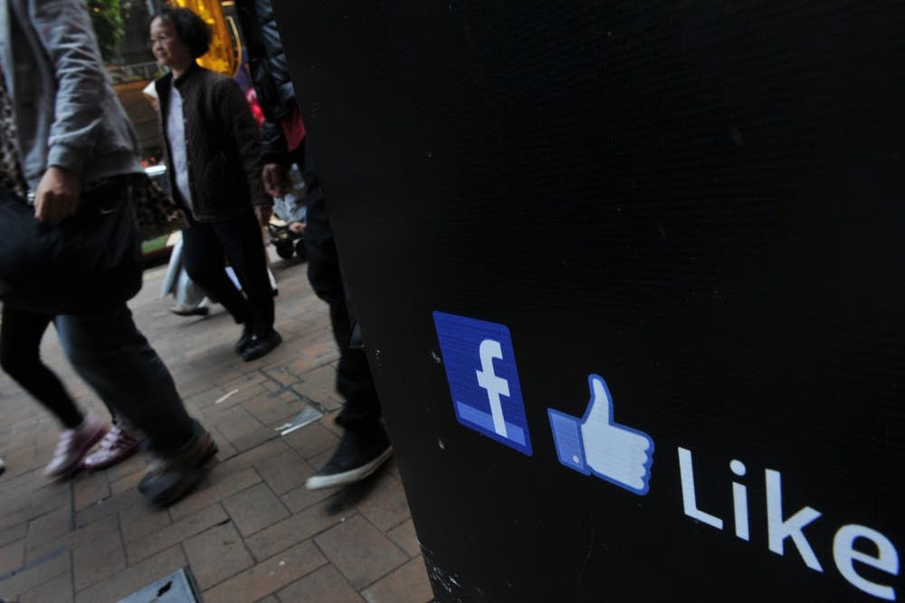 Facebook 'like' logo