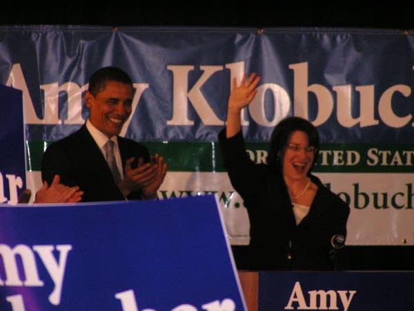 Obama and Klobuchar