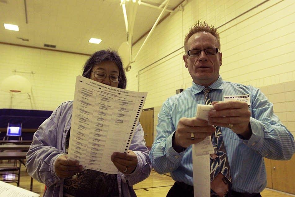 Checking ballots