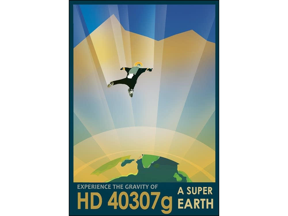 HD 40307g: Experience the gravity of a super earth