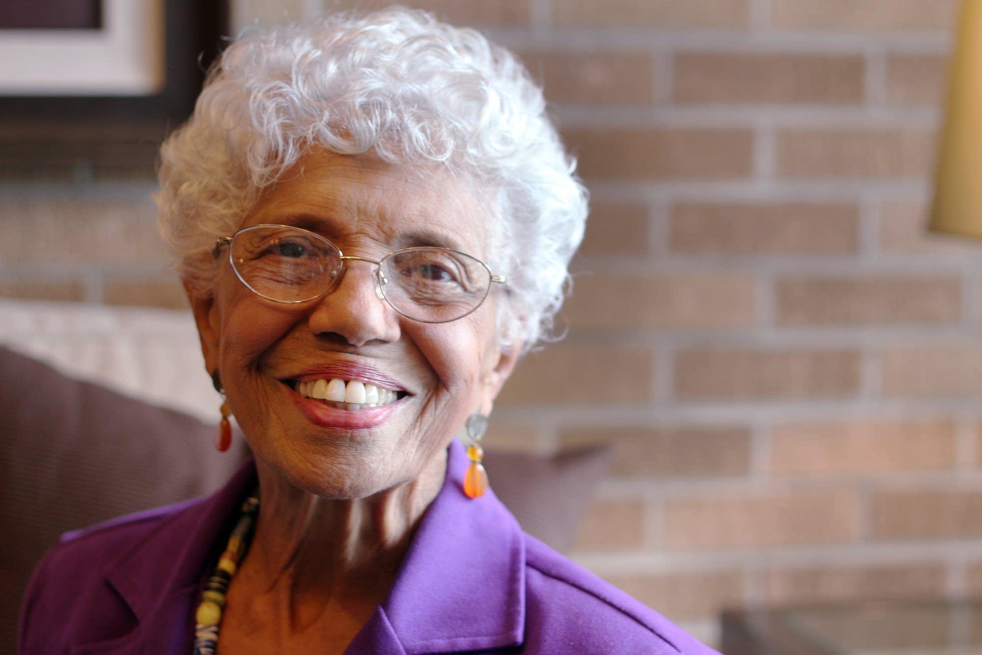 Civil rights activist Josie Johnson was adviser to Mayor Arthur Naftalin.