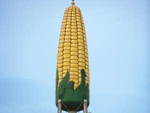 Corn water tower